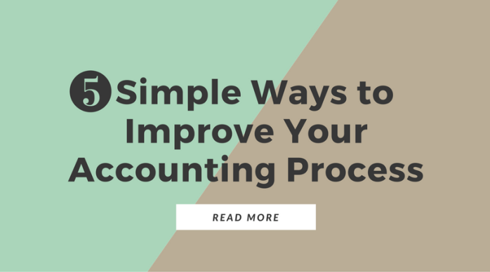 5 Simple Ways to Improve Your Accounting Practice